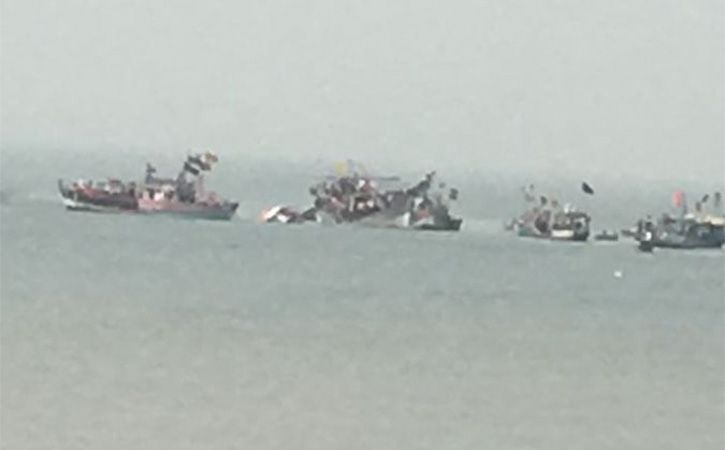 35 Rescued After Boat With 40 School Students On Board Capsizes