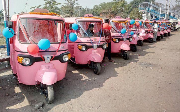 500 Pink Autorickshaws To Hit Bengaluru Roads By April