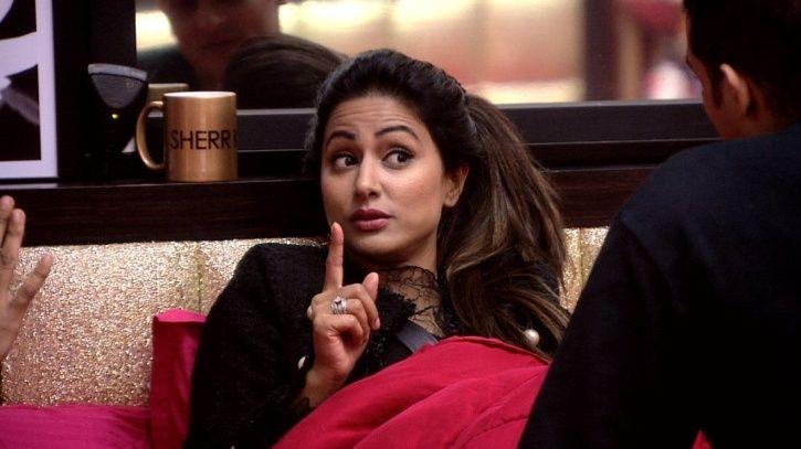 A still of Hina Khan from Bigg Boss 11.