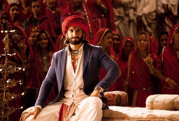A still of Ranveer Singh from Ram Leela.