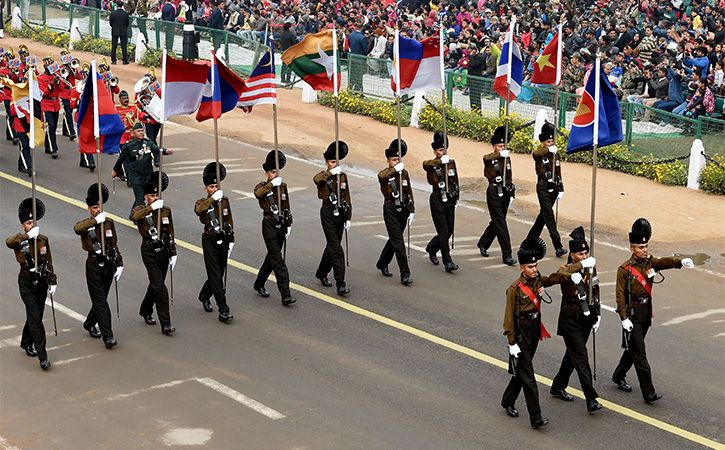 ASEAN flag will fly over Rajpath for the first time this Republic Day