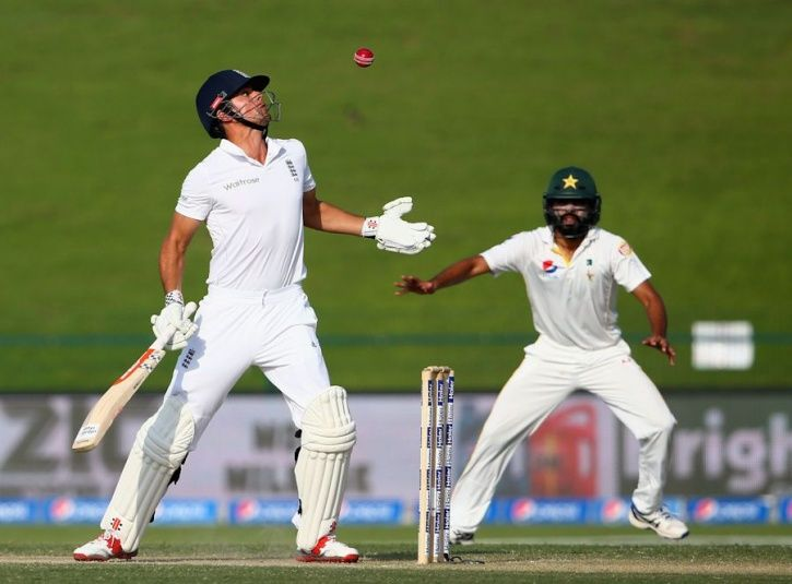 Batsmen look very silly when they are out this way
