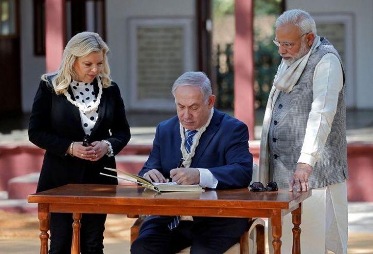 Benjamin Netanyahu in Gujarat