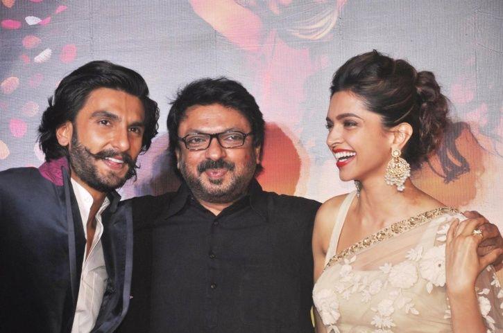Bhansali, Ranveer and Deepika
