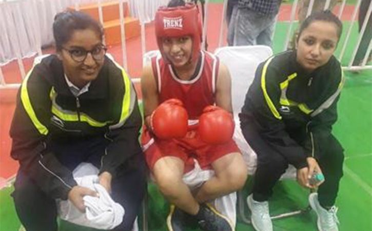 Bhondsi Girl Punches For Gold In Serbia