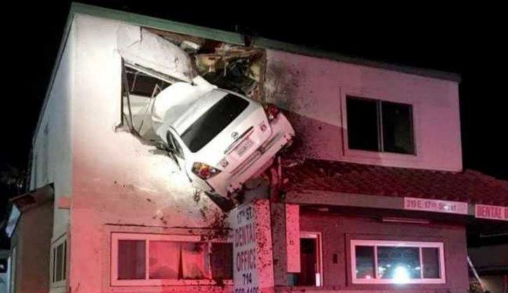 car crash in Southern California