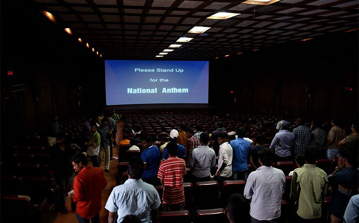 Centre Favours Doing Away With Mandatory Playing Of National Anthem In Theatres
