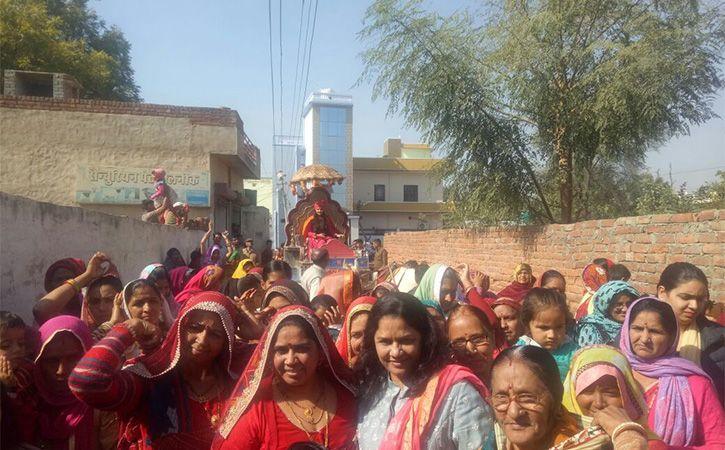 Chariot Bride in Rajasthan