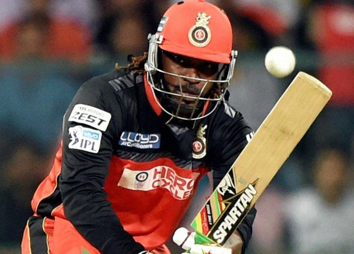 Chris Gayle was not retained by RCB