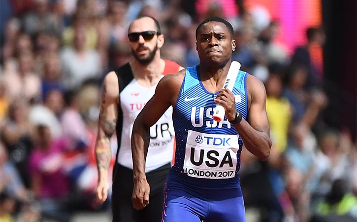 Christian Coleman Sets New World Record As He Completes 60M Sprint In 6.37 Seconds