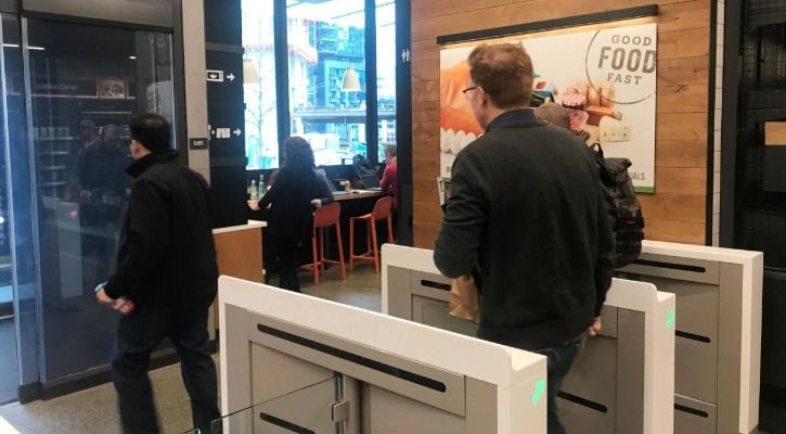 Customers walk out without needed to stand in the cashier line - Reuters