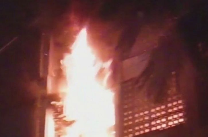 Fire Breaks Out At North Mumbai Building