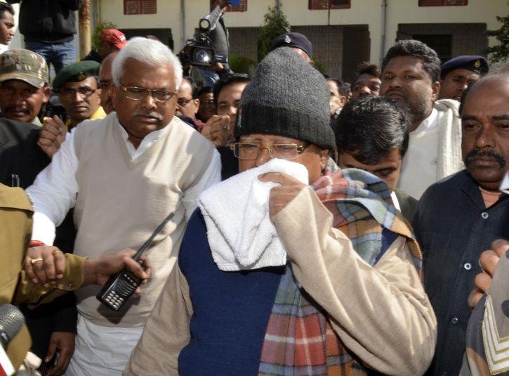 former Bihar Chief Minister and RJD supremo Lalu Prasad Yadav