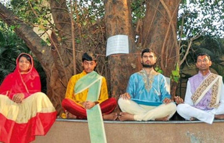 From left Viral Dedhia, Dharmil Dedhia, Sanket Parekh and Chandresh Poladia