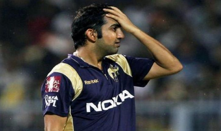 Gautam Gambhir led KKR to the IPL titles in 2012 and 2014