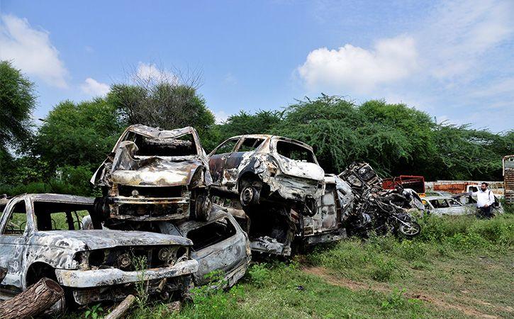 Haryana Lost In Dera Violence