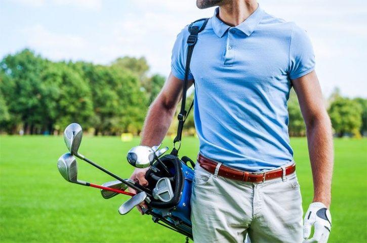 Hawaii Missile Panic golfer