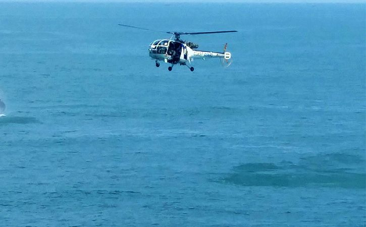 Helicopter With 7 Onboard Goes Missing Off Mumbai Coast