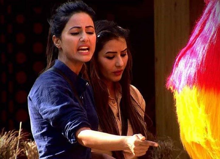 Hina and Shilpa