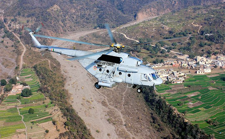India Russia To Sign Contract For 48 Mi 17 Choppers By March