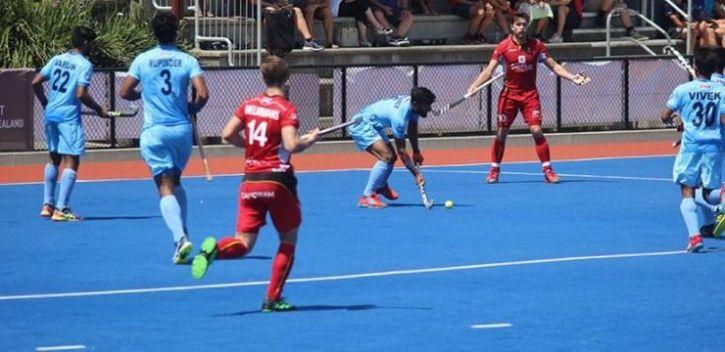 india vs belgium hockey