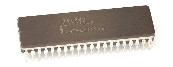 intel 8088 microprocessor