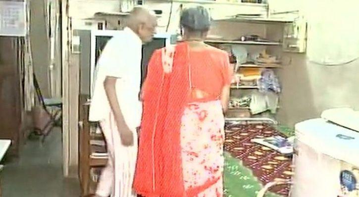 Iravati and Narayan Lavate