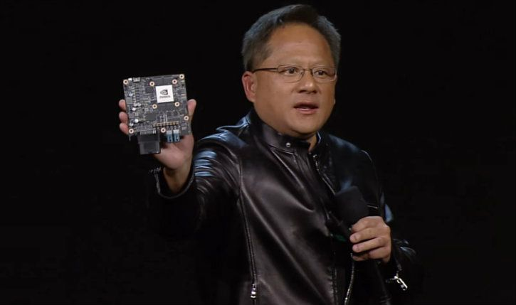jensen huang nvidia xavier self-driving car soc