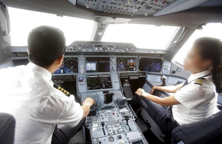 Jet Grounds Two Senior Pilots For Fighting In Cockpit