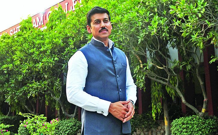 Karni Sena Demands Resignation Of Prasoon Joshi Smriti Irani Rajyavardhan Singh Rathore