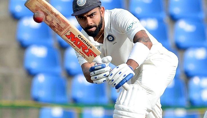 Kohli produced his 16th Test fifty