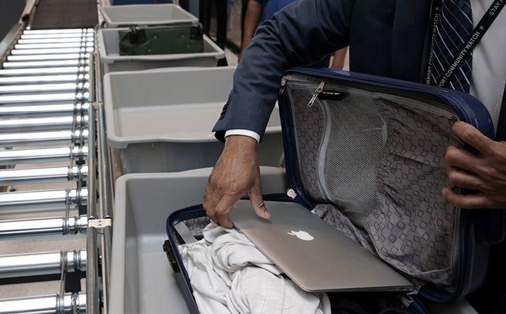 Laptops Only In Cabin Bags On Flights Soon