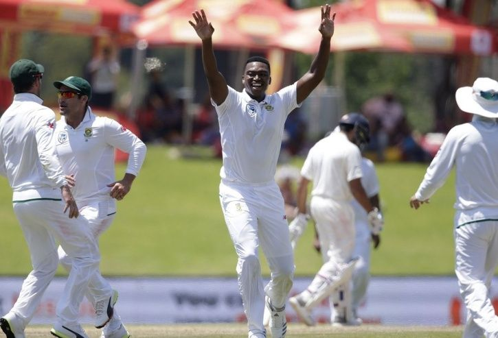 Lungi Ngidi took 6/39 to help South Africa win by 135 runs.