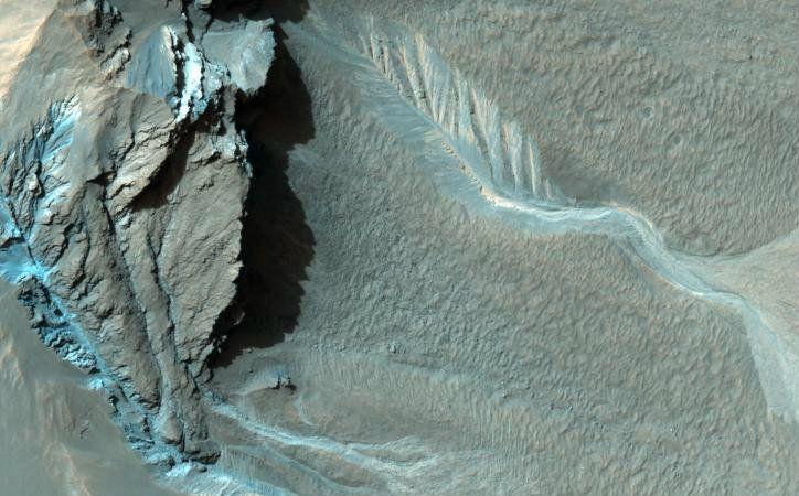 mars water ice underneath surface