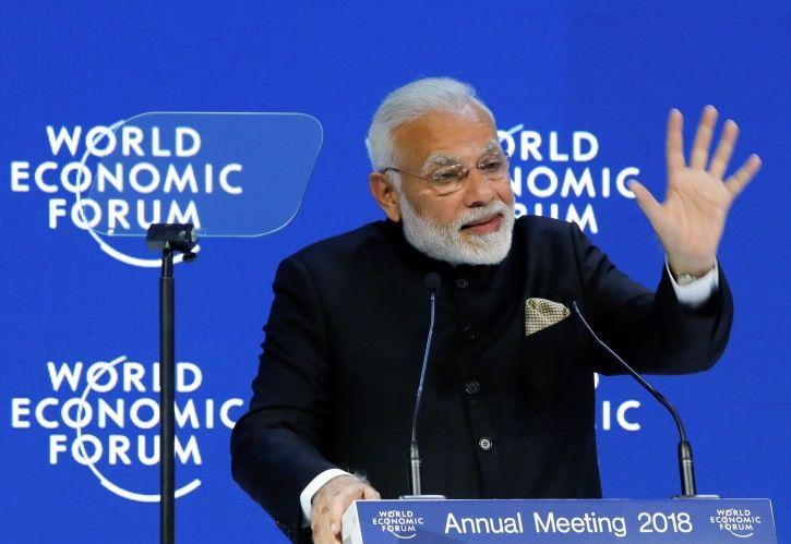 Modi In Davos
