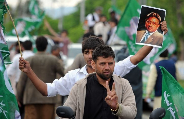 Musharraf Blames Modi For Pakistans Isolation