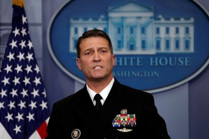 Navy doctor Ronny Jackson, who administered Trump