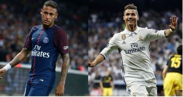 Neymar was bought by PSG from Barcelona for 222 million euros