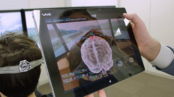 Nissan brain to vehicle