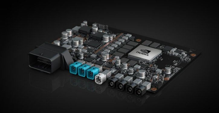 nvidia drive xavier soc driverless cars