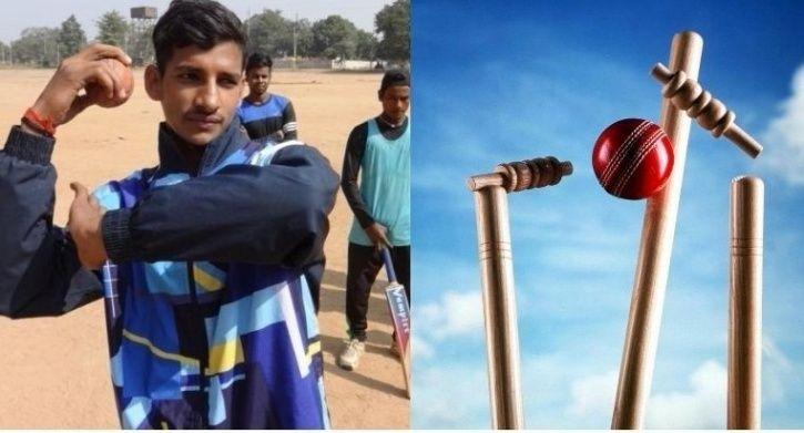 Pankaj Yadav is 15 and a spinner