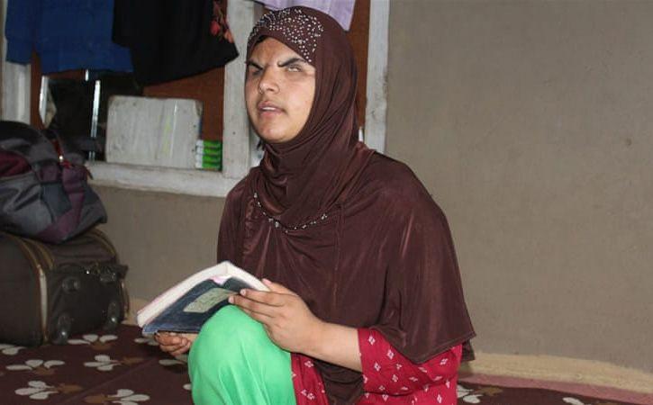 Pellet Blinded Insha Mushtaq Qualified 10th Class Exam
