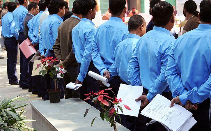 People With MBA LLBs Rush For Peons Job