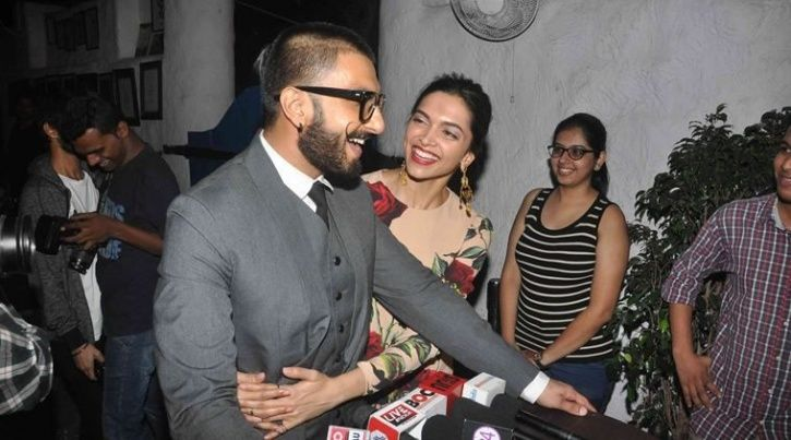 Ranveer and Deepika
