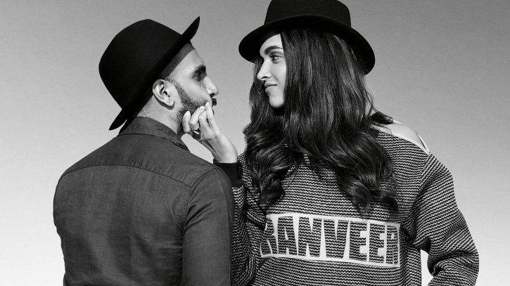 Ranveer Singh an d Deepika Padukone