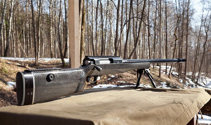 Russian sniper rifle sumrak