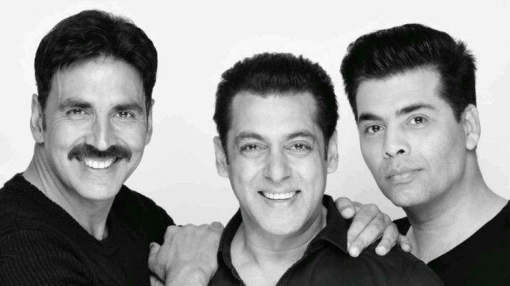 Salman, Akshay and KJo