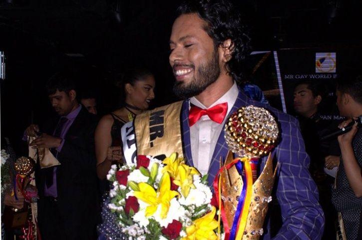 Samarpan Maiti mr gay winner