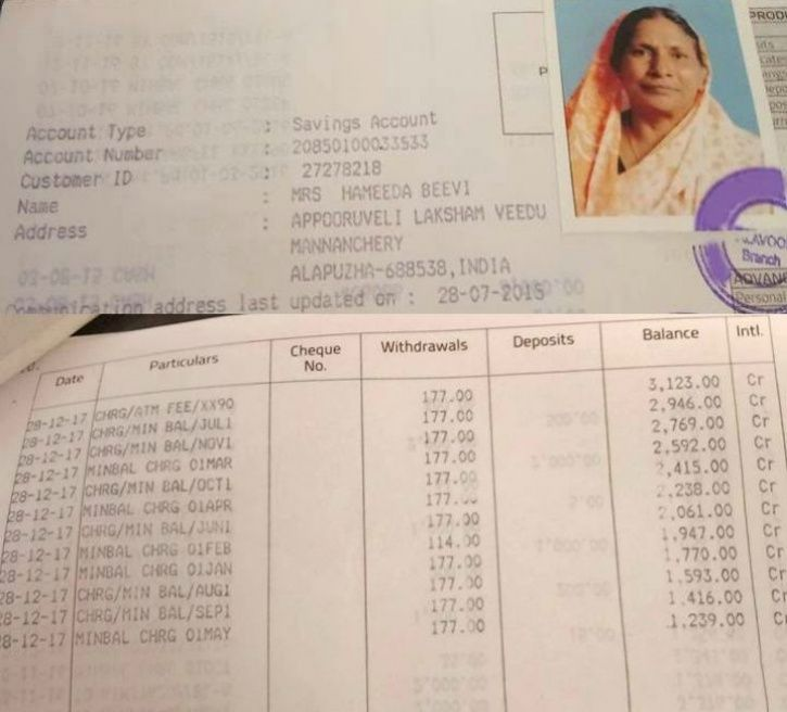 SBI Levies Rs 3050 Fine For Not Maintaining Minimum Balance