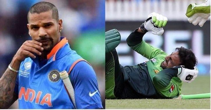 Shikhar Dhawan wished Shoaib Malik a speedy recovery